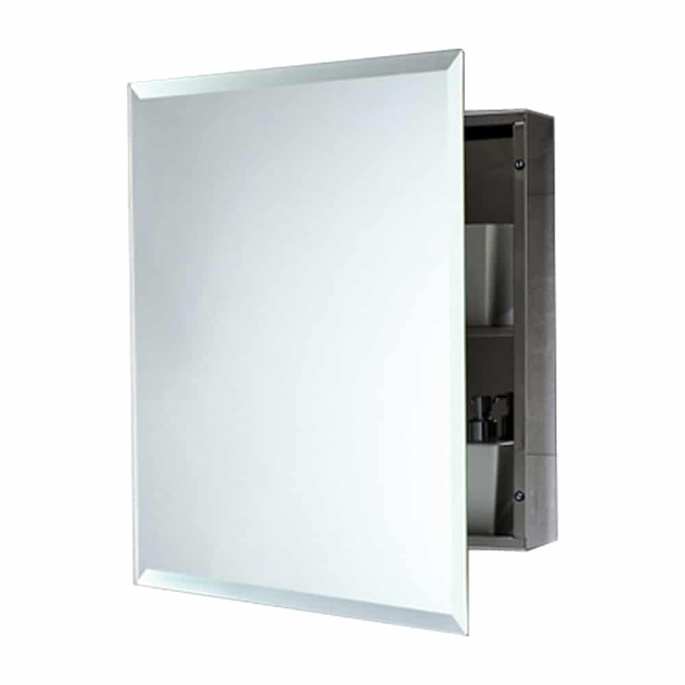 armario de bano gedy con puerta reversible rectangular1 - CONSEJOS PARA EQUIPAR TU BAÑO