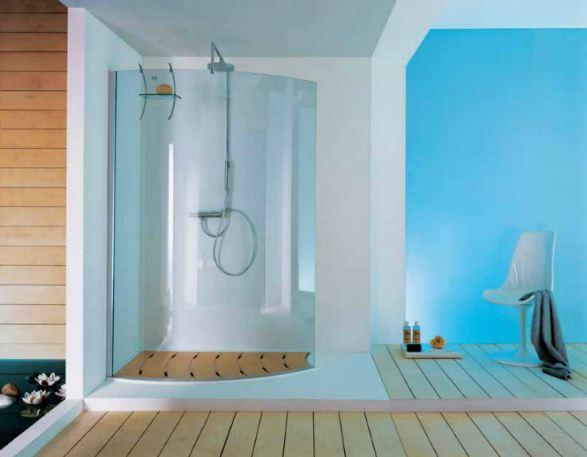 baños color - ¿Qué mampara de ducha es la ideal para mi cuarto de baño?