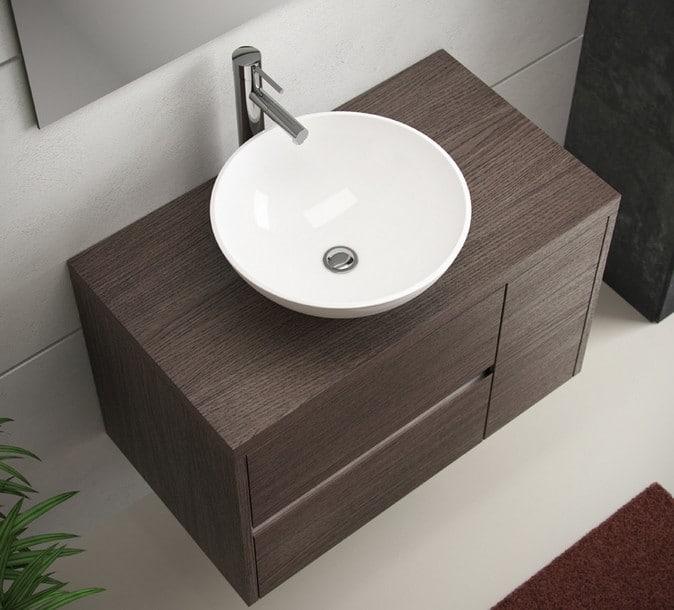 lavabos sobre encimera de madera este tipo de material aporta naturalidad y diseo a un cuarto de bao por eso en los ltimos tiempos se han puesto muy