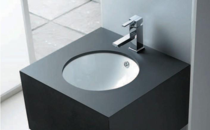 encimera se trata de la instalacin ms clsica y la que todos nos imaginamos al pensar en un lavabo el lavamanos est incrustado encima de