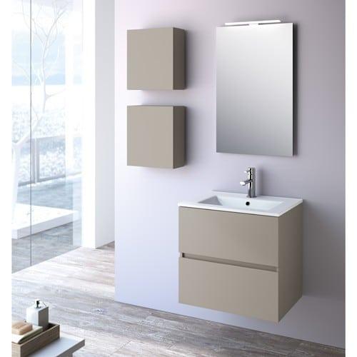 mueble auxiliar salgar fusion - Muebles auxiliares de baño: funcionales y sofisticados