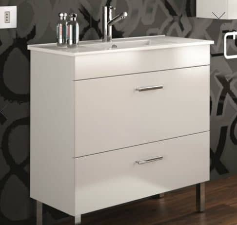 mueble de baño blanco the bath point