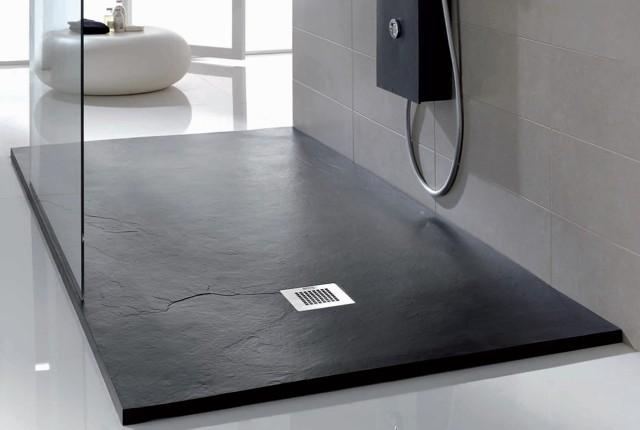 Cuarto de bao con plato de ducha excellent cuartos de bao for Instalar plato ducha