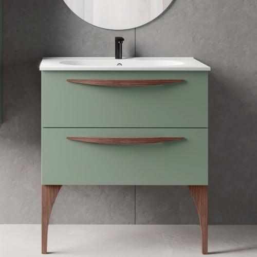 muebles de baño de color