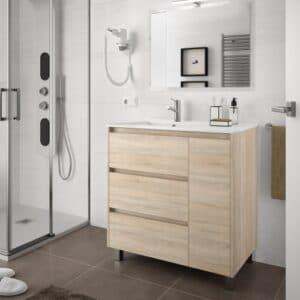 arenys85roble2 300x300 - Los Top 5 Muebles de Baño Baratos