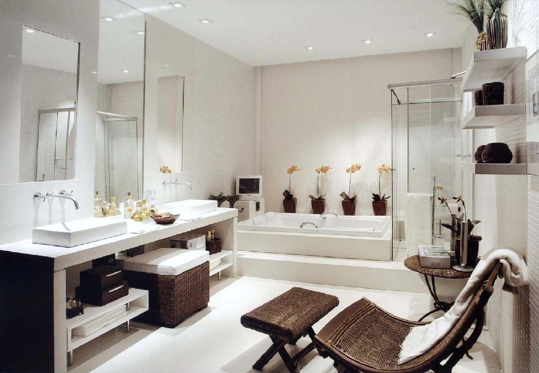 decoración de cuartos de baño grandes