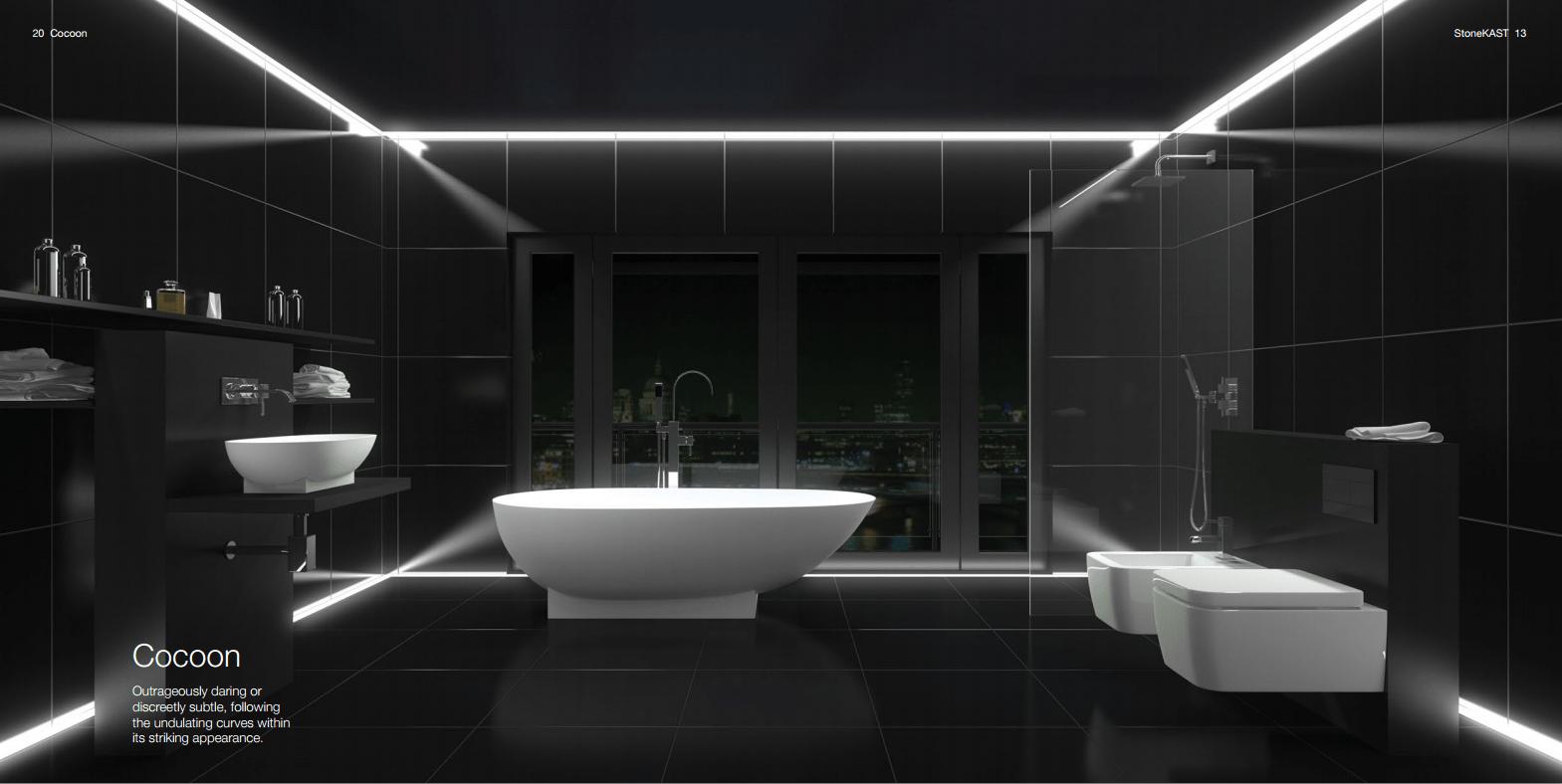 baño minimalista - DECORACIÓN DE BAÑOS