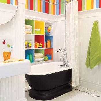 baños de colores