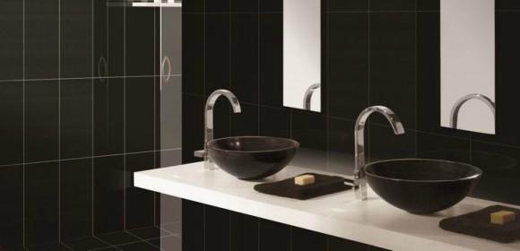 Muebles de baño Negros