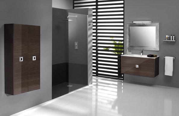 mueble de baño wengue
