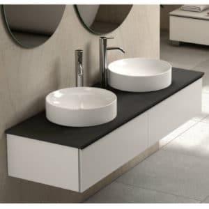 duoblanconegrook 300x300 - Ventajas de los lavabos sobre encimera