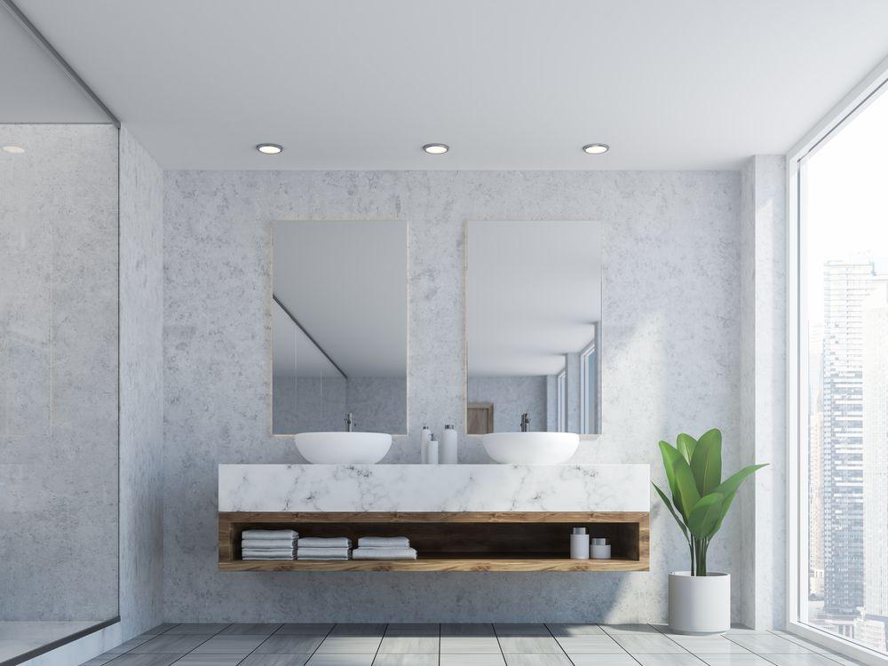 elegir encimera de baño