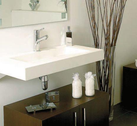 Ahorrar espacio con lavabos peque os tbp for Decoracion de banos accesorios