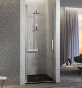 mampara de ducha abatible 280x300 - ¿Qué mampara de ducha debo poner?