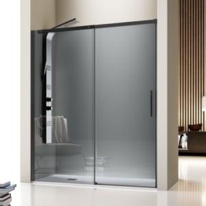 mampara ducha negra luna 300x300 - ¿Qué mampara de ducha debo poner?