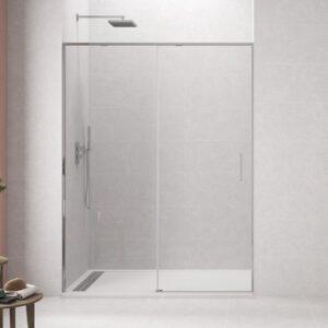 mampara negra twenty cromo2 300x300 - Mamparas de ducha Sin Perfiles
