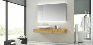 mueble bano diseno 300x145 - ¿A que altura se coloca una encimera de baño?