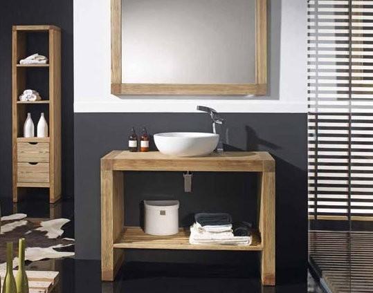 Un ba o de estilo r stico tbp - Adornos para cuartos de bano ...