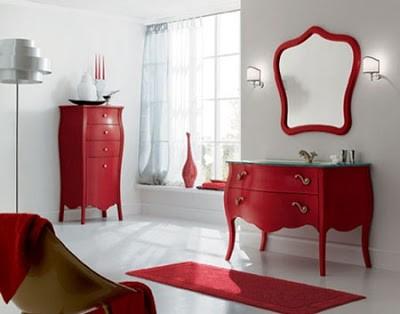 Muebles de baño rusticos