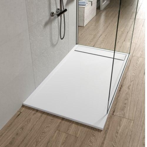 Plato de ducha MERIDA blanco liso