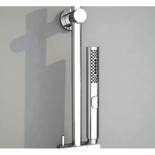 Detalle conjunto empotrado de ducha ARUBA