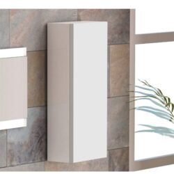 Mueble-auxiliar-de-baño-Columna-DUO-blanca