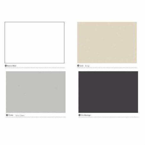 Colores Mueble auxiliar CHIC II