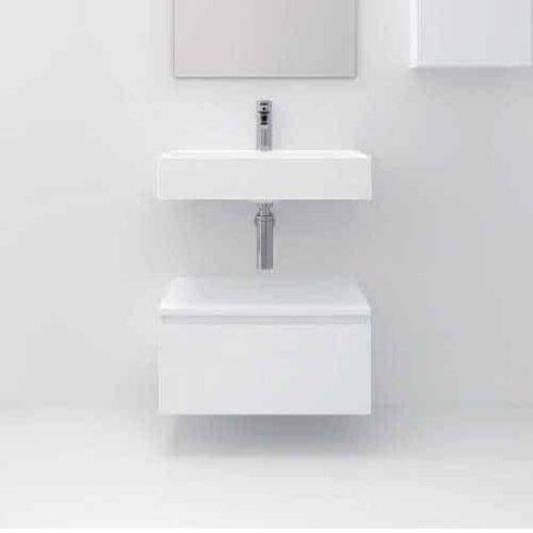 Mueble auxiliar de baño ELETOR BLANCO