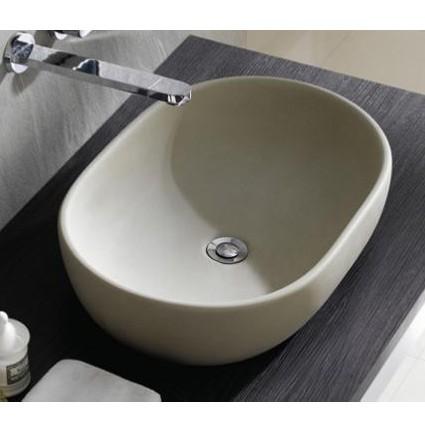 Lavabo ovalado toulouse crudo