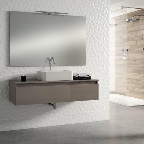 Mueble de Baño moderno BOX I taupe brillo