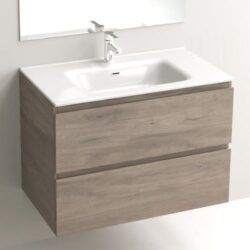 Mueble de Baño LINE 1 Nogal