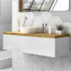 Mueble de baño nordico Espino half