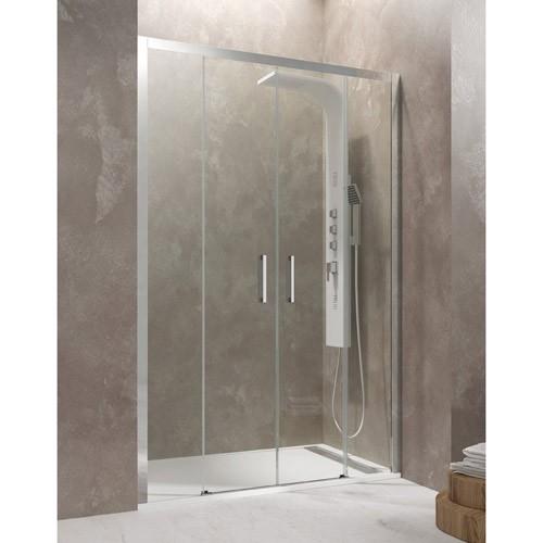 Mampara de ducha AKTUAL apertura por el centro