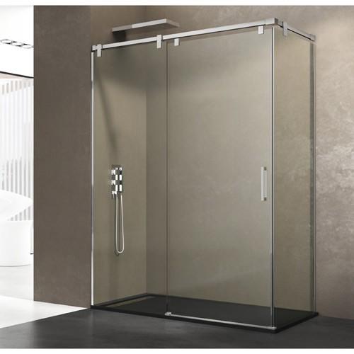 Mampara de ducha FUTURA con lateral fijo