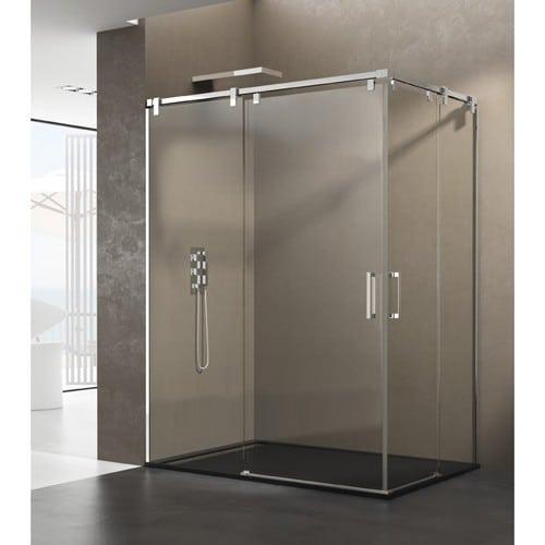 Mampara de ducha FUTURA apertura por el vertice