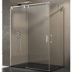 Mampara de ducha FUTURA apertura por el vértice