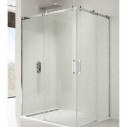 Mampara de ducha ROTARY con apertura por el vertice