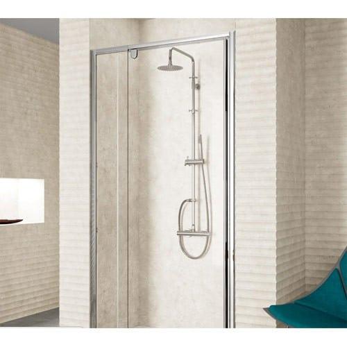 Mampara puerta abatible de ducha