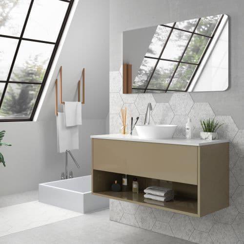Mueble de baño LISBOA DUO beig