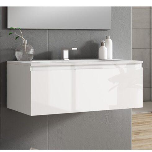 Mueble de Baño Minimalista Londres Blanco