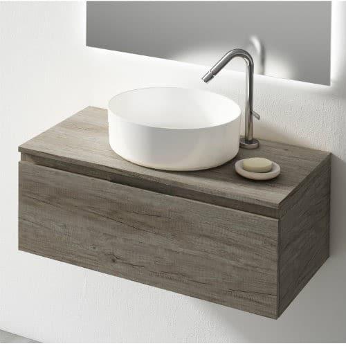 Mueble de Baño Londres Nogal