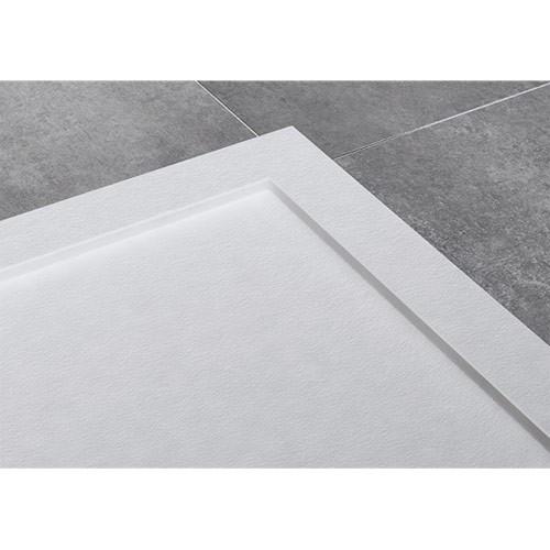 Detalle marco plato de ducha ARES