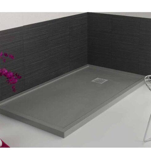 Plato de ducha ARES Gris Cemento