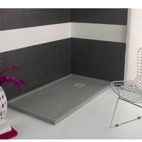 Plato de ducha GRIS cemento