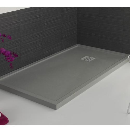Plato de ducha ARES Cemento