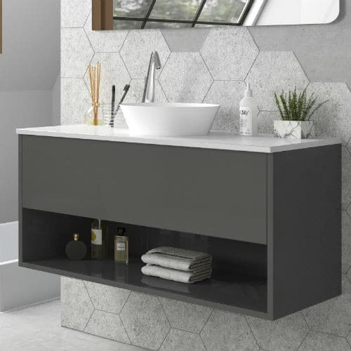 Mueble de baño LISBOA DUO marengo