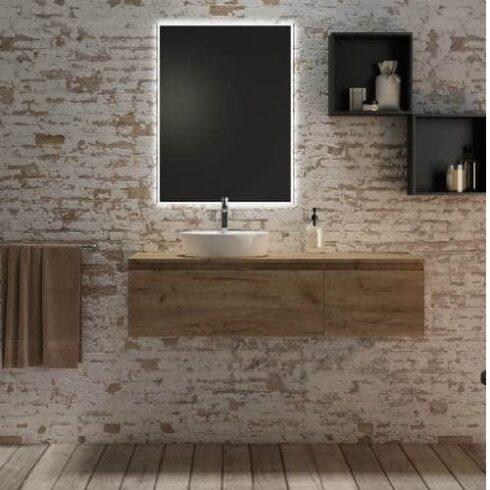 Mueble de Baño Paris GEM Nogal