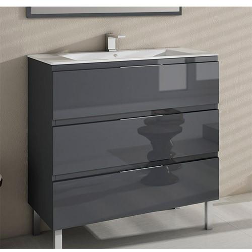 Muebles de baño con patas Modena