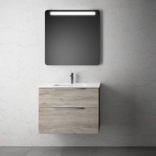 Mueble baño Roble Gris