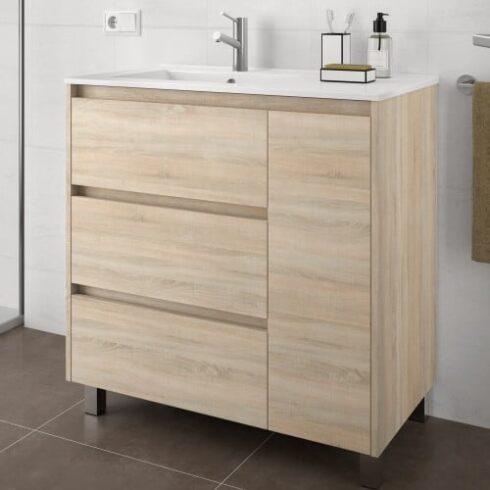 Muebles de baño de oferta con patas